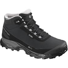 Salomon Shelter Cs Wp Black Black Frost Gray Lowest Price