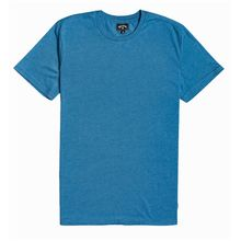 Billabong All Day Crew Men's T-shirt Bay Blue Lowest Price