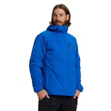 Burton Ak Helium Hooded Stretch Men's Insulated Jacket Lapis Blue Lowest Price