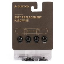 Burton M6 Channel Replacement Hardware Black Lowest Price