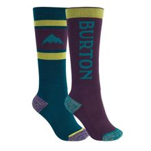 Burton Weekend Midweight Kids Sock 2 Pack Dynasty Green Parachute Lowest Price