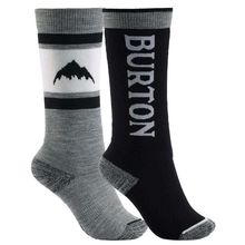 Burton Weekend Midweight Kids Sock 2 Pack True Black Lowest Price