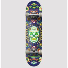 Hydroponic Complete Skate Mexican Skull Navy Lowest Price