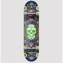 Hydroponic Mexican Co Navy Skull Kompletné Skateboardy Lowest Price