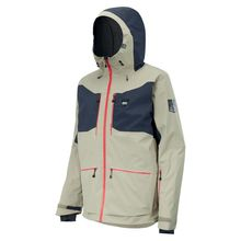 Picture Naikoon Men's Snow Jacket Stone Lowest Price