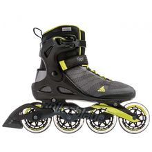 Rollerblade Sirio 90 Anthracite Lime Men's Inline Skates Lowest Price