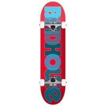 Birdhouse Opacity Logo 2 Skateboard Complete 8in Red Lowest Price