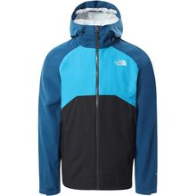 The North Face Stratos Men's Jacket Asphalt Grey Moroccan Blue Meridian Lowest Price