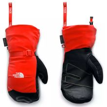 The North Face Summit Belay Mitt Fiery Red Men's Glove Lowest Price