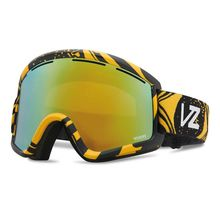 VonZipper Cleaver Hi Fructose Gold Chrome Snow Goggles Lowest Price