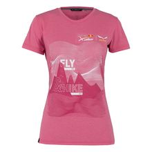 Salewa X-Alps Fly&Hike Woman's T-Shirt Camelia Rose Lowest Price