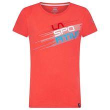 La Sportiva Stripe Evo Women's T-Shirt Hibiscus Lowest Price