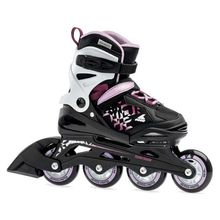 Rollerblade Thunder G Black Lilac Kids Inline Skates Lowest Price