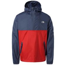 The North Face Cyclone Anorak Vintage Indigo Rococco Red Men's Jacket Lowest Price