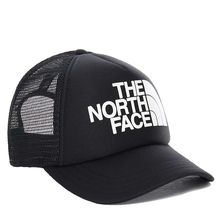 The North Face Youth Logo Trucker Tnf Black Tnf White Kids Cap Lowest Price