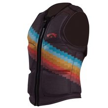 Billabong T Street Wake Impact Vest Mens Stripe Lowest Price
