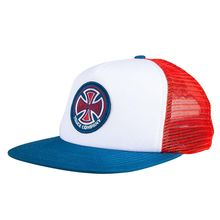 Independent 78 Cross Mashback Cap Red White Blue Lowest Price