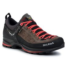 Salewa Ws Mtn Trainer 2 Gtx Driftwood Fluo Coral Women's Shoes Lowest Price