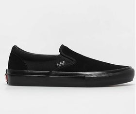 Vans Skate Slip-On Black Black Men's Shoes Lowest Price