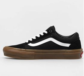 Vans Skate Old Skool Black Gum Men's Shoes Lowest Price
