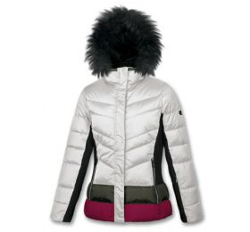 Brugi AB2C Woman's Padded Ski Jacket White