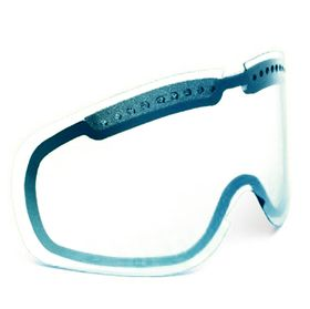 Von Zipper Sizzle Snow Google Spare Lens Clear Chrome Blue Lowest Price