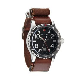 Nixon Diplomat Watch Black Brown Lowest Price