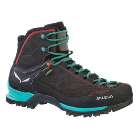 Salewa Ws Mountain Trainer Mid Gtx Magnet Viridian Green Women's Shoes Lowest Price
