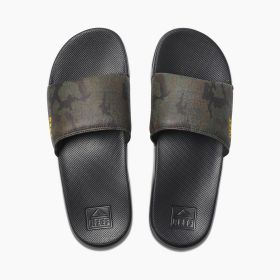 Reef One Slide Green Camo Men's Sandals Lowest Price