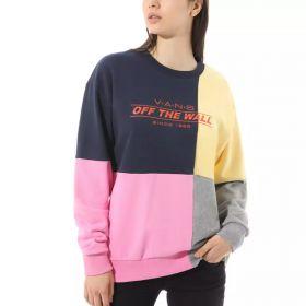 Vans Check Piece Crew Dress Blues Women's Sweatshirt