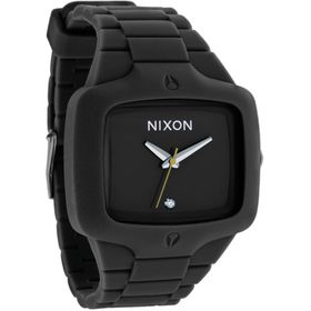 Nixon The Rubber Player Black Watches Lowest Price