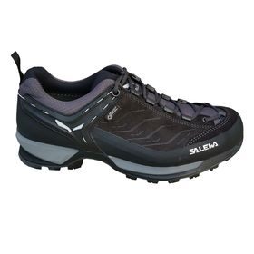 Salewa Ms Mtn Trainer Gtx Black Out Silver Men's Shoes Lowest Price