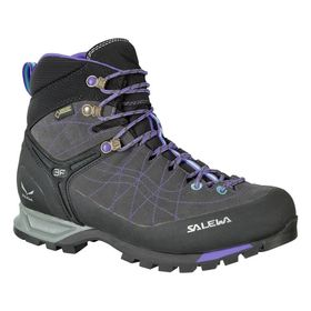 Salewa Ws Mtn Trainer Gtx Carbon River Blue Women's Shoes Lowest Price