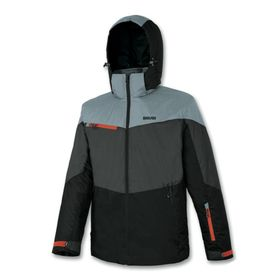 Brugi AF1Y Men's Ski Jacket Black Grey Lowest Price