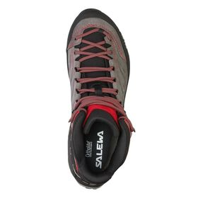 Salewa Mountain Trainer Mid Gtx Charcoal Papavero Men's Hiking Shoes Lowest Price