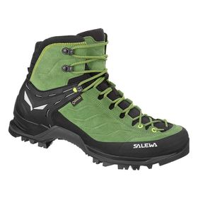 Salewa Mountain Trainer Mid Gtx Myrtle Fluo Green Men's Hiking Shoes Lowest Price