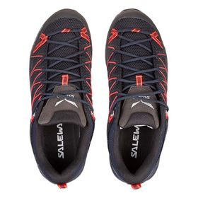 Salewa Mountain Trainer Lite Premium Navy Fluo Coral Women's Shoes Lowest Price