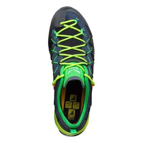 Salewa Wildfire Edge Ombre Blue Fluo Yellow Men's Shoes Lowest Price