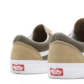 Vans Old Skool Classic Sport Men's Shoes Cornstalk Grape Leaf Lowest Price
