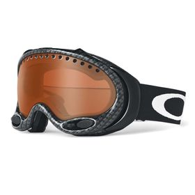 Oakley A Frame True Carbon Fiber Black Iridium Snow Goggles Lowest Price