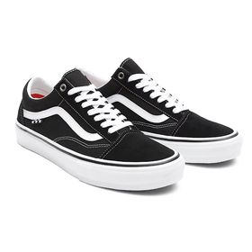 Vans Skate Old Skool Black White Men's Shoes Lowest Price
