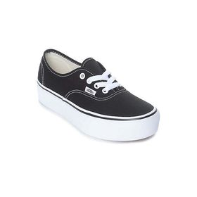 Vans Authentic Platform Women's Shoes Black Lowest Price