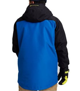 Burton Gore-Tex Radial Men's Insulated Jacket Lapis Blue True Black Limeade Lowest Price