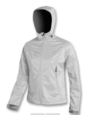 Brugi D847 Women's Softshell Jacket Light Grey Lowest Price