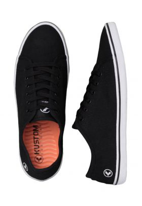 Kustom Hummer Black Man's Canvas Shoes Lowest Price